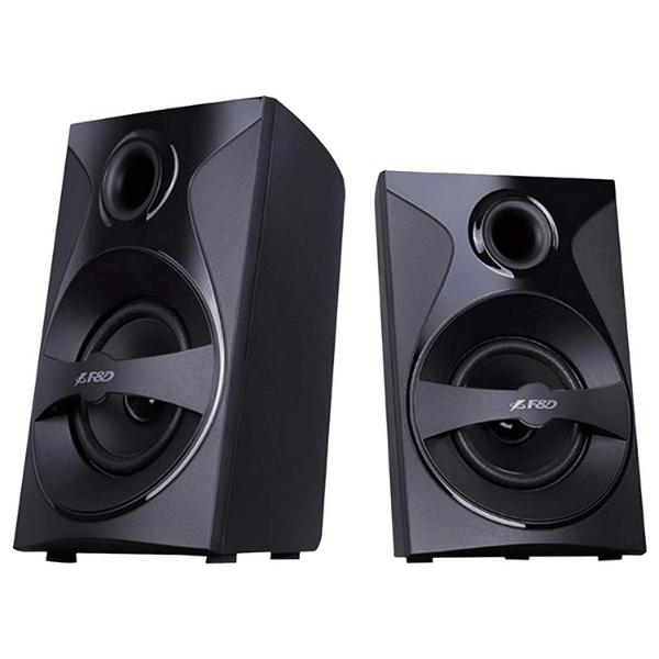 F3800X 80W 5.1 Bluetooth Multimedia Speaker with Multi Color LED - Black