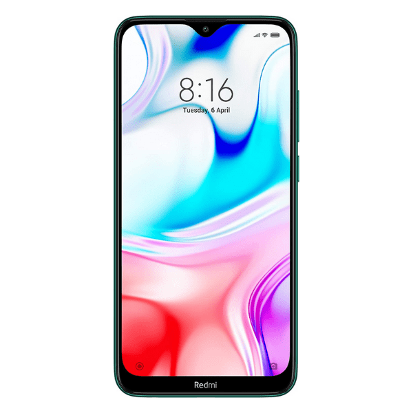 Mi Phone Redmi 8 (Emerald Green,64GB Storage,4GB RAM)