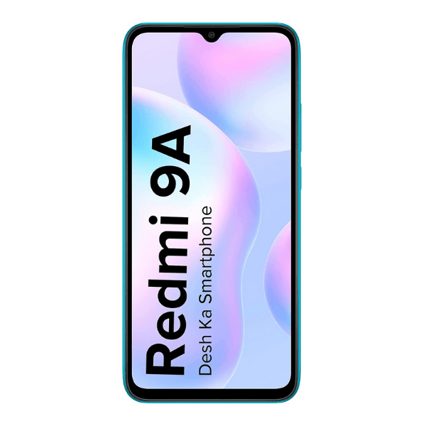 Redmi 9A (Sea Blue, 32GB Storage,3GB Ram)