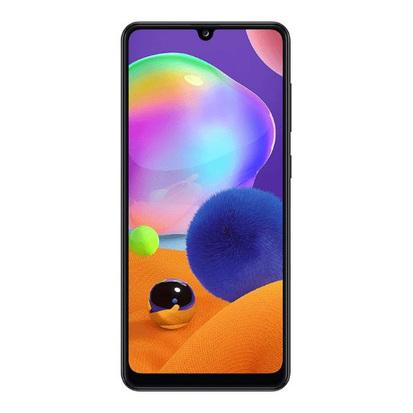 Samsung Galaxy A31 (Prism Crush Black, 6GB RAM, 128GB Storage)