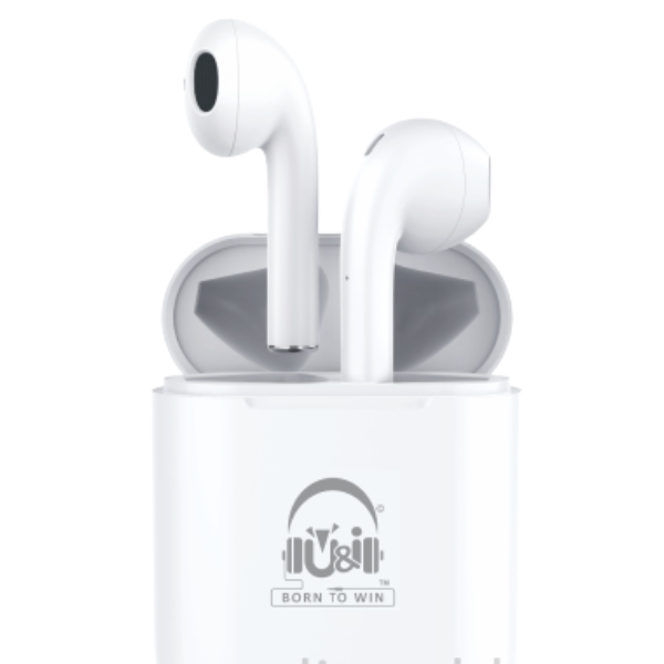 U&I UiTWS 4554 Twins True Wireless Stereo With Mic For All Smartphones - Happy Series