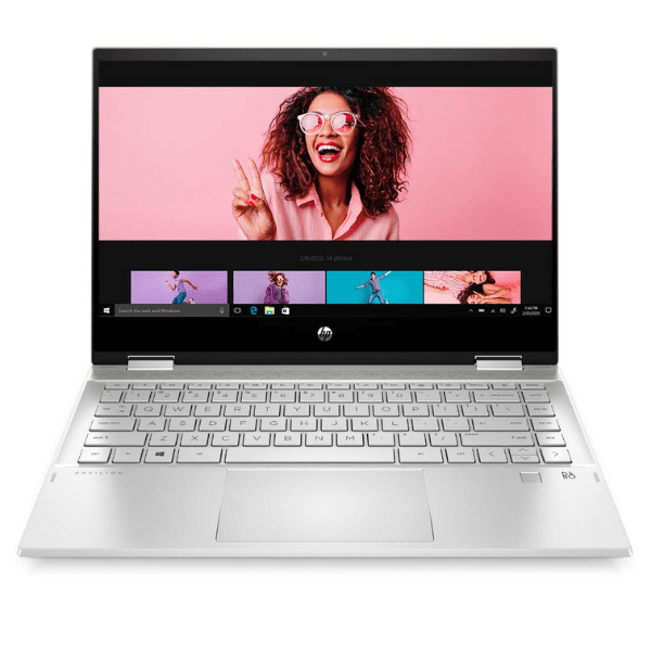 HP Pavilion x360 Core i3 Touchscreen 14-inch (35.56 cms) FHD Laptop (i3-10110U8GB256GB SSDWin 10MS Office