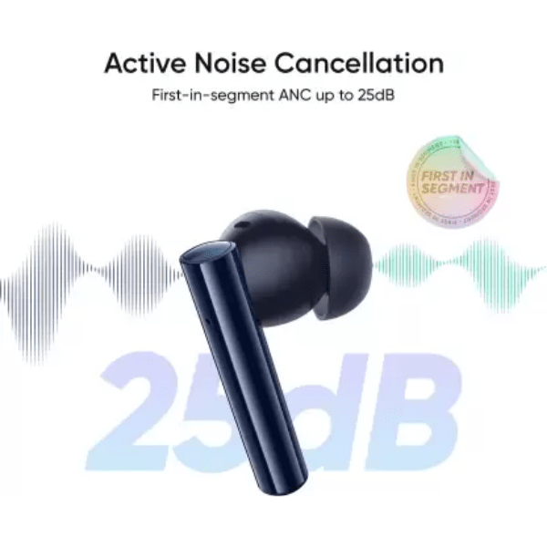 realme Buds Air 2 with Active Noise Cancellation